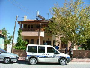 Konyada evden hırsızlık girişimi