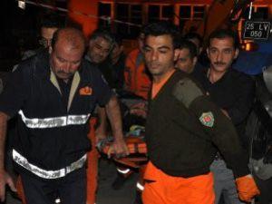 Erzurumda Göçük: 1 Ölü, 5 Yaralı