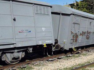Vagonlarda maddi hasar meydana geldi