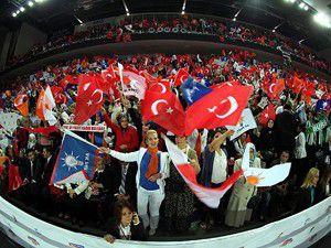 AK Parti kongresi dış basında