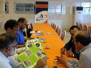 Pakistanlı iş adamlarından AKTİSADa ziyaret