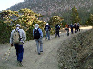 Doğaseverler Tınaz Tepe Dağlarına tırmandı