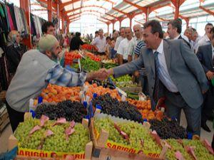 Karatay'da Çatalhüyük Pazar Market açıldı