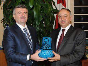 Afganistan Büyükelçisi Akyüreki ziyaret etti