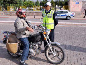 Seydişehirde motosikletlere sıkı takip