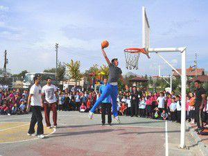 M.Özdemirde spor şenliği