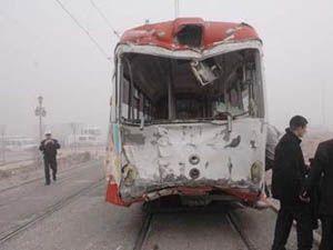 Konyada Tramvay Kazası!