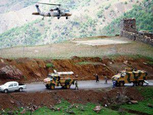 Bölgede büyük operasyon başlatıldı