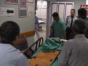 1 yaşındaki bebek hastaneye kaldırıldı