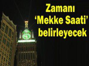 Müslümanların saatini belirleyecek
