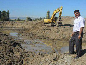 Gevrekli beldesine arıtma tesisi kuruluyor