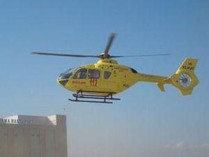 Helikopter ambulansımız Eylülde geliyor
