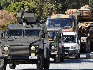 Vandan askeri araca taşlı saldırı: 3 yaralı