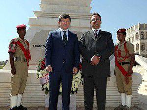 Ahmet Davutoğlu Yemende