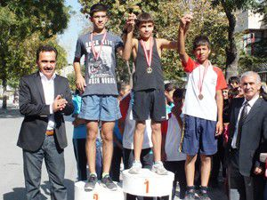 Konyada Atletizm Cumhuriyet Koşusu