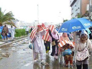 Kutsal topraklarda yağmur sevinci