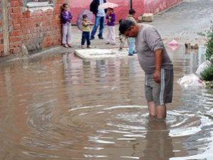 Çanakkalede Su Baskını