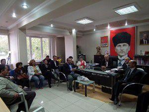 CHP Konya İl Başkanından Akşehire ziyaret