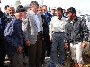 Başkan Akyürek vatandaşlarla görüştü