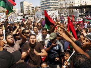 Libyada bayram havası!