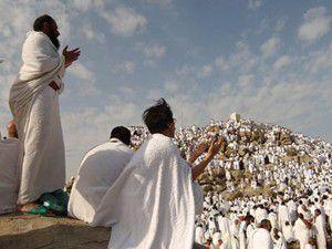 Hacı adaylarını Arafat heyecanı sardı