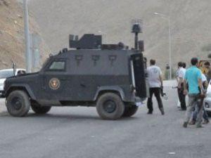 Diyarbakırda polise taciz ateşi