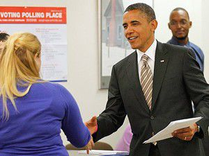 Obamadan erken oy
