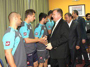 Torku Konyasporda bayramlaşma
