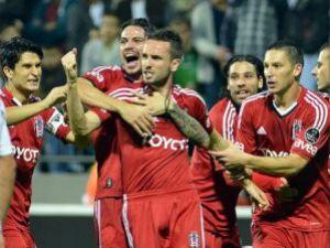 Beşiktaşın galibiyet hasreti sona erdi