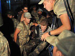 Sınırda sıkışınca Türk askerine sığındı