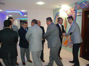 Başkan Hançerli personel ile bayramlaştı