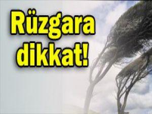Meteorolojiden rüzgar uyarısı