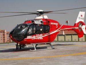 Ambulans helikopter, Sağlık Müdürlüğüne teslim edildi