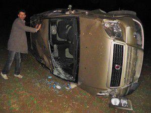 Hüyükte trafik kazası: 1 yaralı