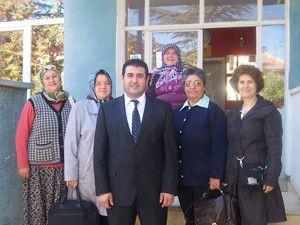 Çavuşta kadınlar Yaşam Merkezi için işbaşında