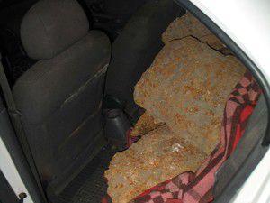Konyada pik döküm malzemesi hırsızlığı