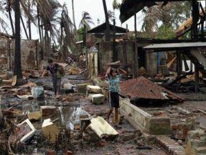 Myanmarda 110 bin kişi evinden oldu