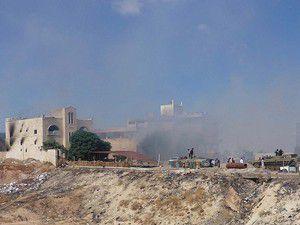 İdlibte cami bombalandı