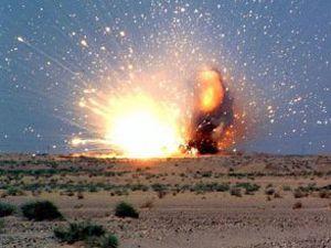 Şemdinlide büyük patlama