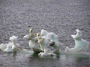 Kuzey Kutbundaki kar örtüsü yok oluyor
