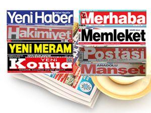 Gazeteler Konyada ne yazdı?