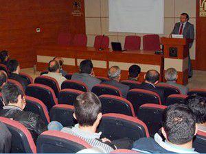 Eğitim semineri düzenlendi
