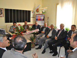 AK Parti Kulu İlçe Teşkilatından hastaneye ziyaret