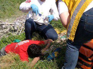Halkapınarda trafik kazası: 1 yaralı