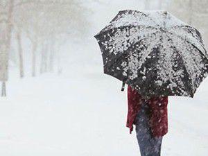 Kar yağışı başlıyor!
