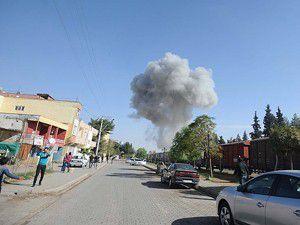Suriye ordusu sınırı bombaladı