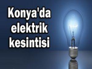 Bu mahallelere elektrik verilmeyecek