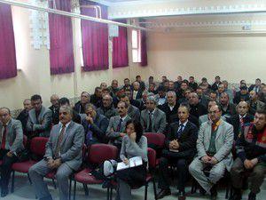 Servis sürücüleri ve müdürlere bilgilendirme toplantısı