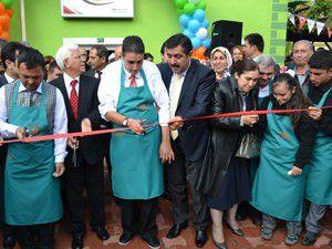 Ereğli Down Cafe açılışını Vali Doğan yaptı