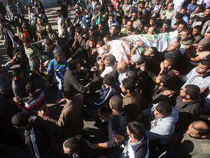 Törende İsrail aleyhine sloganlar atıldı
